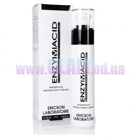 ERICSON LABORATOIRE ENZYMACID Whitefluid Spf-20 - осветляющий защитный крем-флюид с спф-20