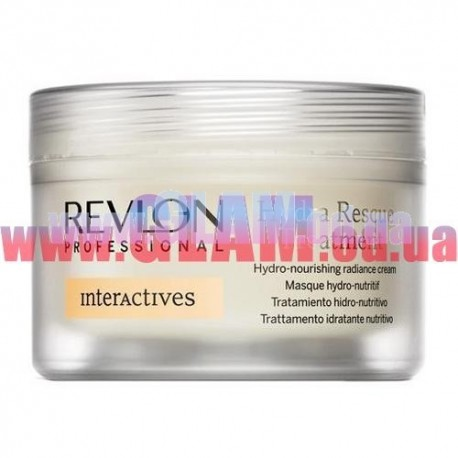 Revlon interactives Hydra Rescue Treatment - лечебная крем-маска для экстра-увлажнения волос