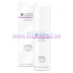 JANSSEN Purifying Tonic Lotion - Тоник для жирной кожи и кожи с акне