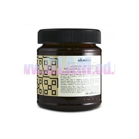 davines Alchemic Conditioner Chocolate - Кондиционер в цвете ШОКОЛАД кондиционер-маска для поддержания шоколадных оттенков.