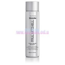 Paul Mitchell Forever Blonde Shampoo - шампунь без сульфатов и парабенов для светлых волос с кератином